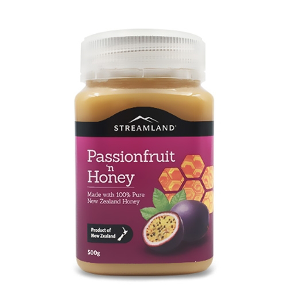 Streamland Passionfruit honey 500g