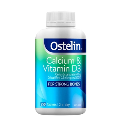 Ostelin Vitamin D & Calcium 250 Tables