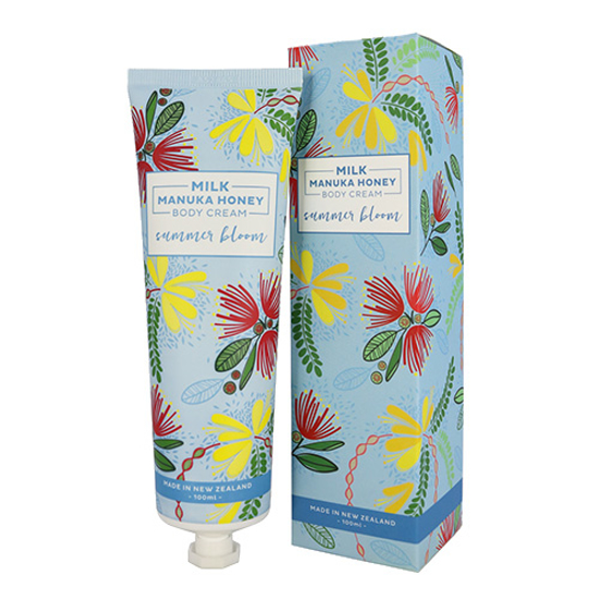 DQ & Co Milk Manuka Honey Body Cream Summer Bloom 100ml
