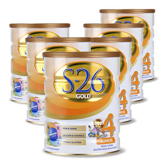 S-26 GOLD Newborn Stage 4 (24 month+) 900g x 6
