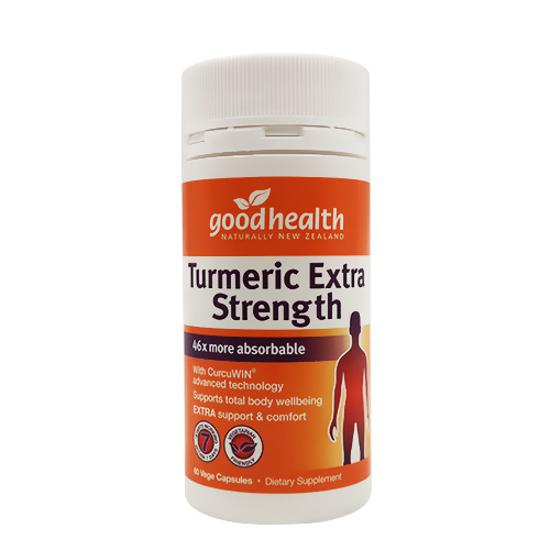Goodhealth Turmeric Extra Strength 60 vege caps