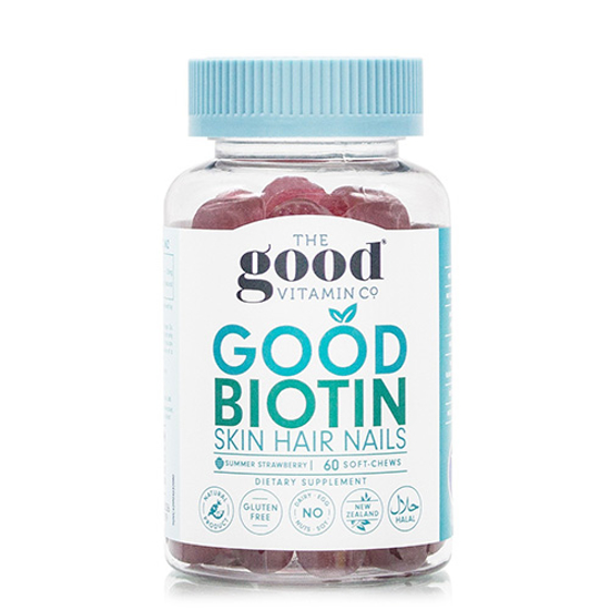 The Good Vitamin Co Good Biotin Skin Hair Nails 60 soft-chews