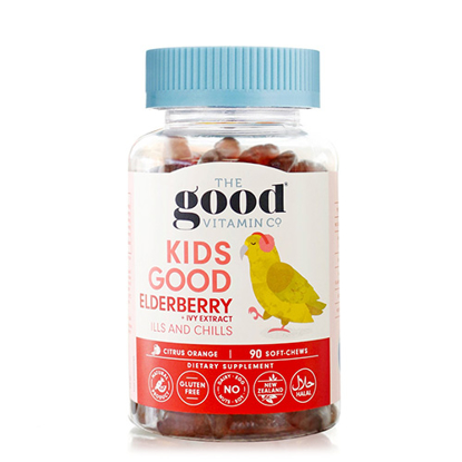 The Good Vitamin Co Kids Good Elderberry 90 soft-chews
