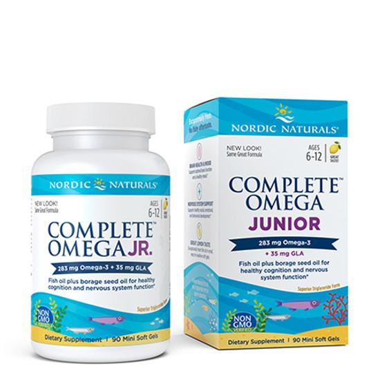 Nordic Naturals Complete Omega Junior 90 mini caps