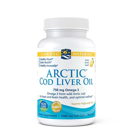 Nordic Naturals Arctic Cod Liver Oil 90 caps