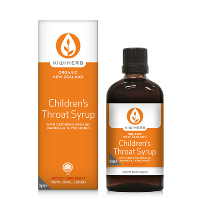 Kiwiherb Children's Throat Syrup 100ml