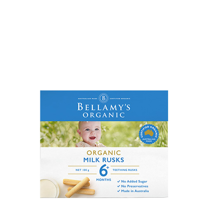 Bellamy's Organic Milk Rusks from 6 months 100g
