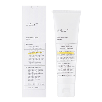 Unichi 11 Pearls Sunscreen Lotion SPF50 60ml
