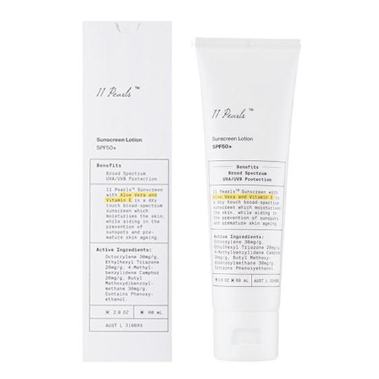 Unichi 11 Pearls Sunscreen Lotion SPF50 60ml
