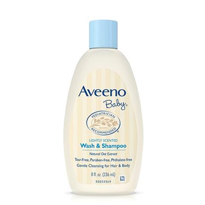 Aveeno Baby Wash and Shampoo 236ml