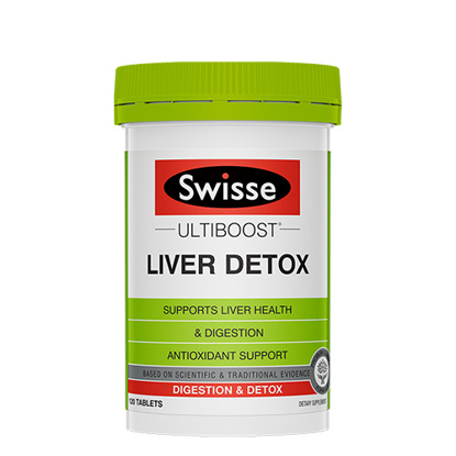 Swisse Liver Detox 120 tables
