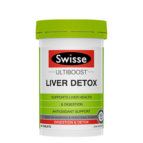 Swisse Liver Detox 120 tables