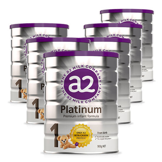 A2 Platnium Stage 1 (0-6 months) 900g x 6
