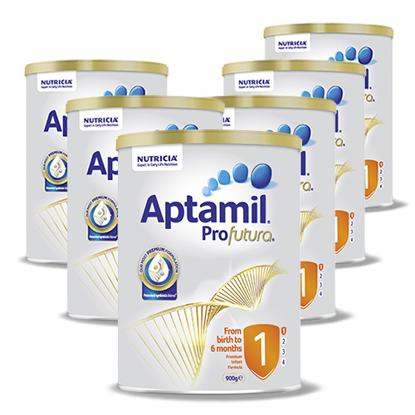 Aptamil Profuturo Stage 1 (0-6 months) 900g x 6