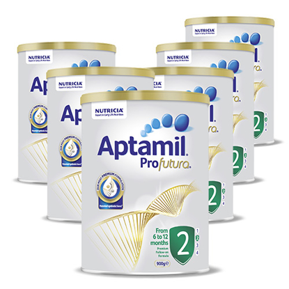 Aptamil Profuturo Stage 2 (6-12 months) 900g x 6