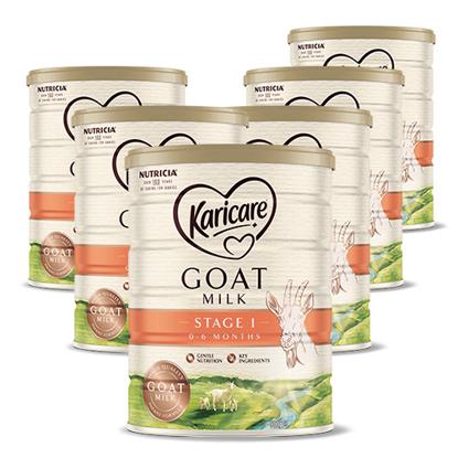 Karicare Goat's Milk Stage 1 (0-6 months) 900g x 6