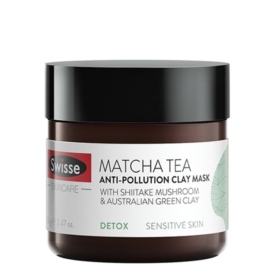Swisse Matcha Tea Anti-Pollution Clay Mask 70g