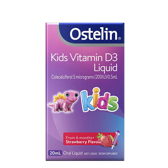 Ostelin Vitamin D liquid for kids 20ml
