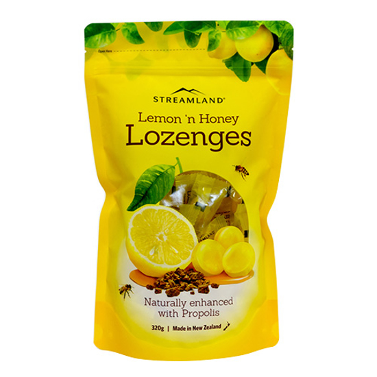 Streamland Lemon n Honey Lozenges with Propolis 320g