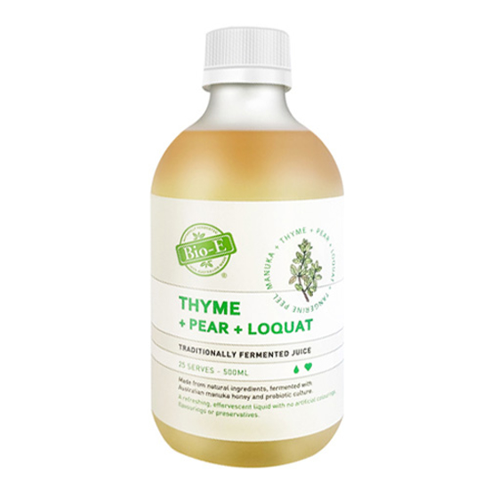 Bio-E Thyme Loquat Pear Manuka Juice 500ml