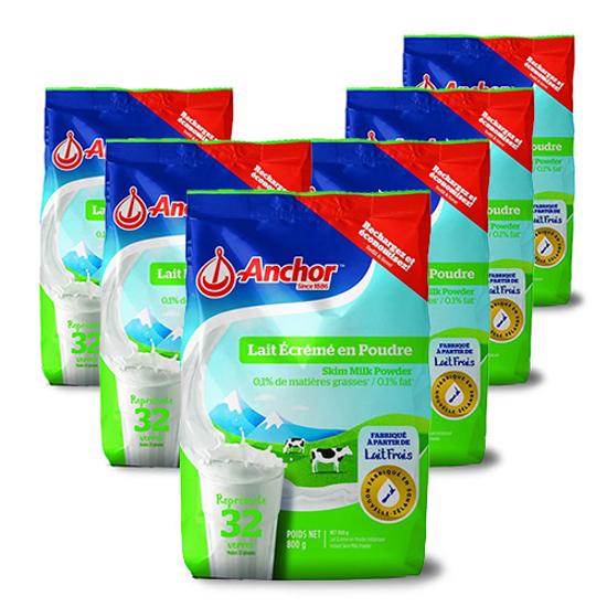 Anchor Skim Milk Powder Europe Version 800g x 6 bags
