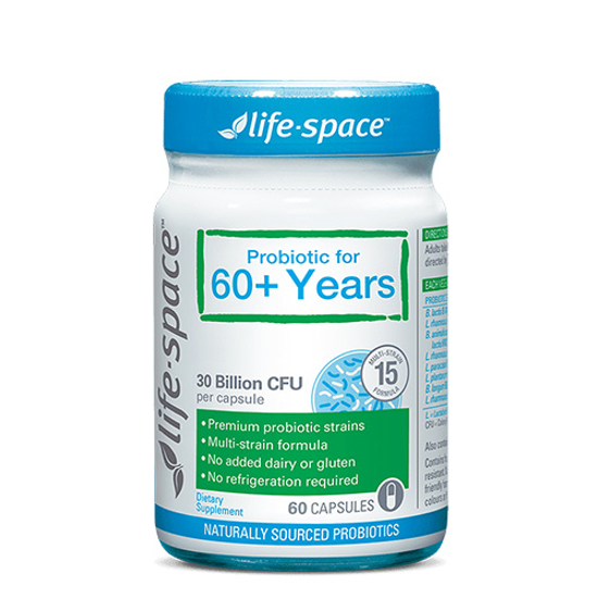 Life-space Probiotic For 60+ Years 60 caps