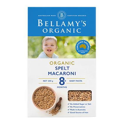 Bellamy's Organic Spelt Macaroni from 8 months 200g