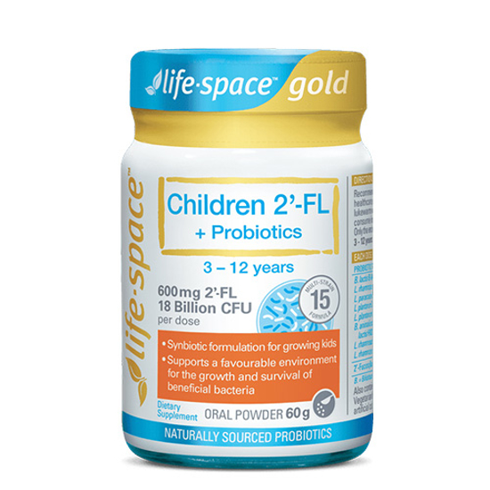 Life-space GOLD Children 2'-FL 2FL Probiotics 60g