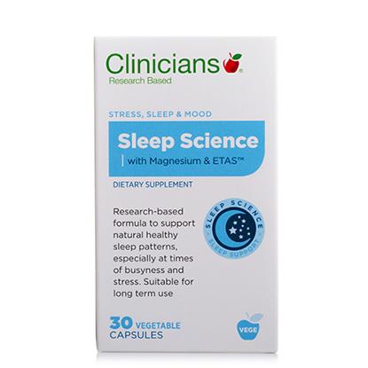 Clinicians Sleep Science 30 vege caps