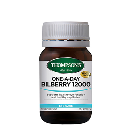 Thompson's ONE-A-DAY BILBERRY 12000 30C