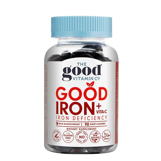 The Good Vitamin Co Good Iron + Vitamin C 90 soft-chews
