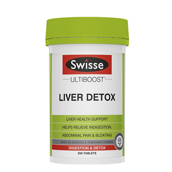 Swisse Liver Detox 200 Tables