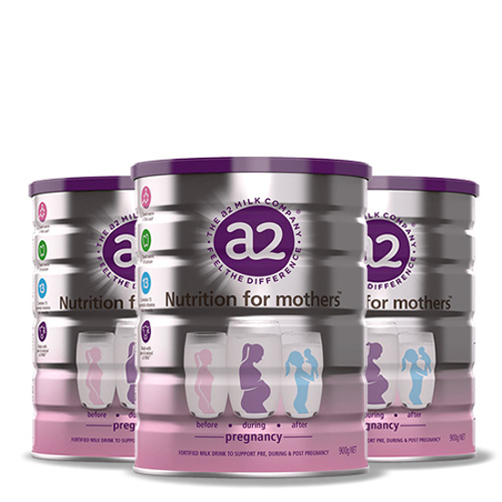 A2 Mothers Milk Powder 900g x 3 cans