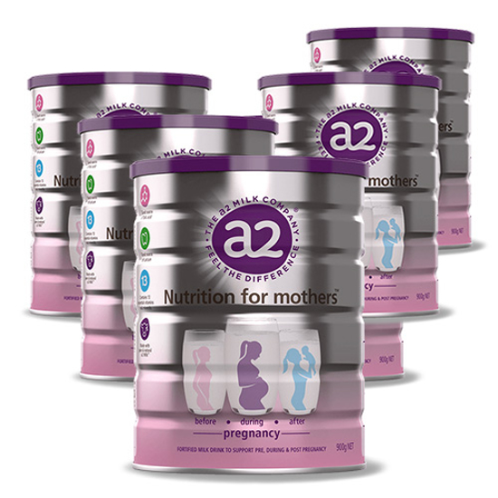 A2 Platnium Pregnancy Mothers Milk Powder 900g x 6 new