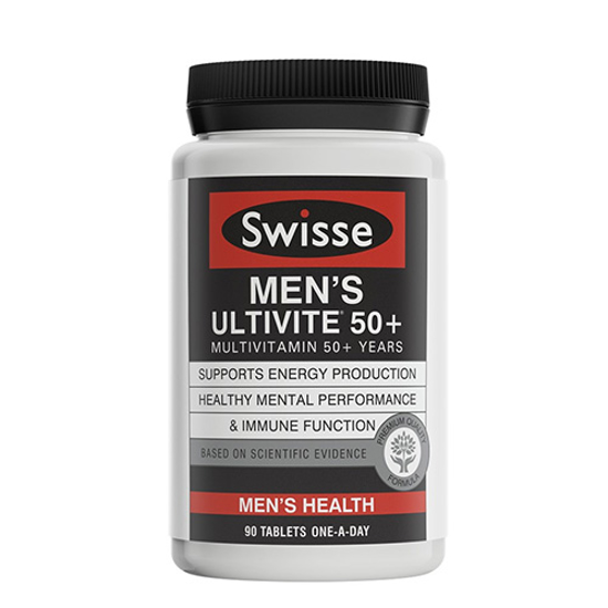 Swisse Men's Ultivite 50+ 90 tabs