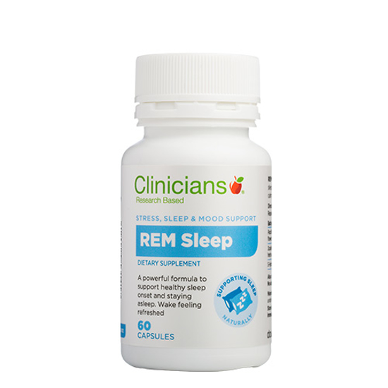 Clinicians REM Sleep 60 caps