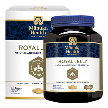Manuka Health Royal Jelly 365 Capsules