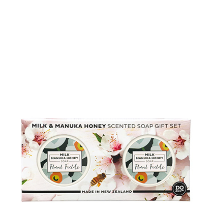 DQ & CO Scented Soap Gift Set Floral Fields 40g x 2