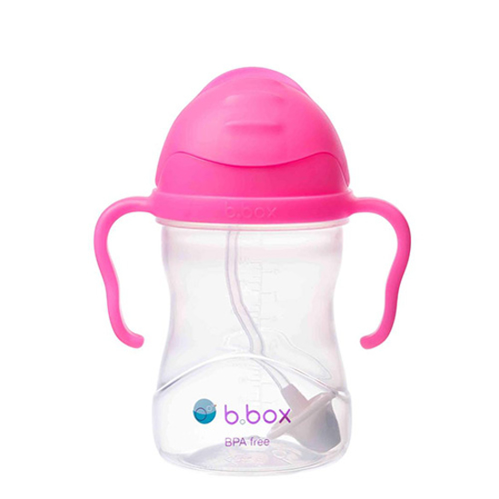 BBox New Sippy Cup 6m+ Pink Pomegranate