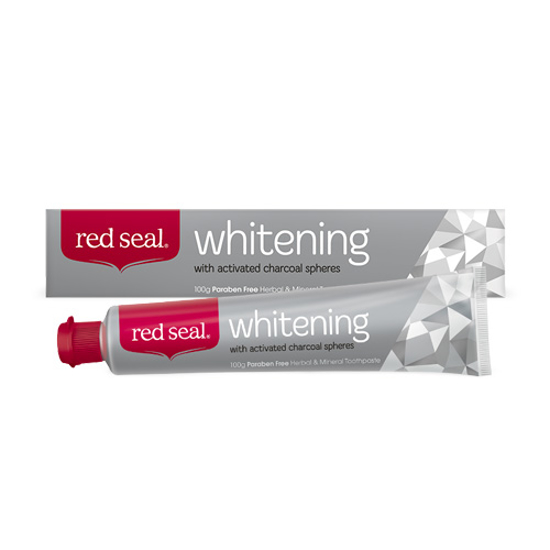 Red Seal Whitening Toothpaste with Activited Charcoal 100g