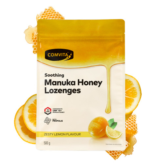 Comvita Manuka Honey Lozenges with Propolis UMF 10+ 500g