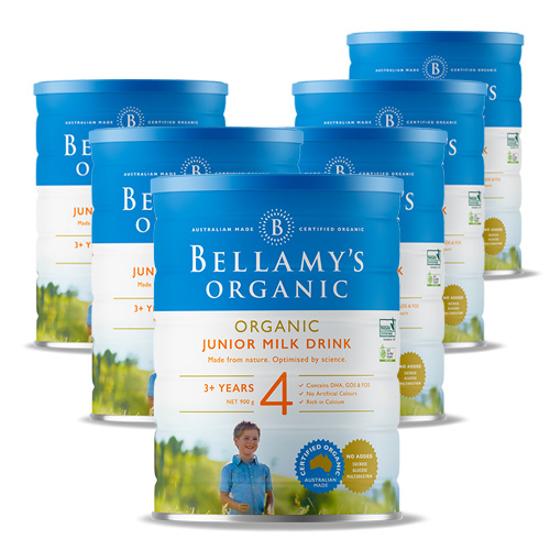 Bellamy's Organic Stage 4 (12 months+) 900g x 6