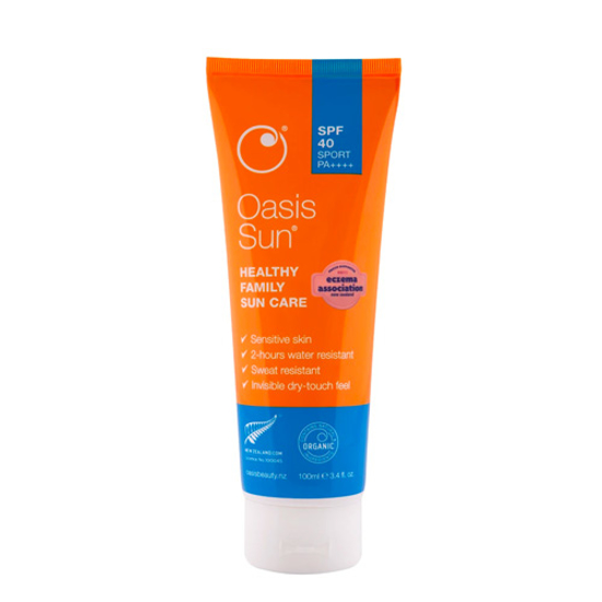 Oasis Sun SPF40 Healthy Family Sunscreen 100ml