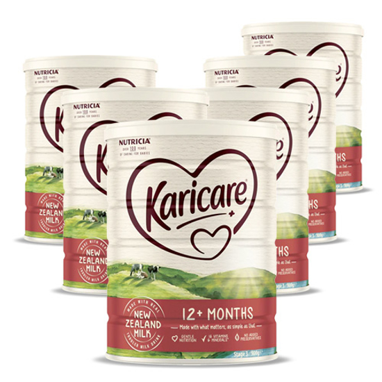 Karicare Stage 3 (12-24 months) 900g x 6