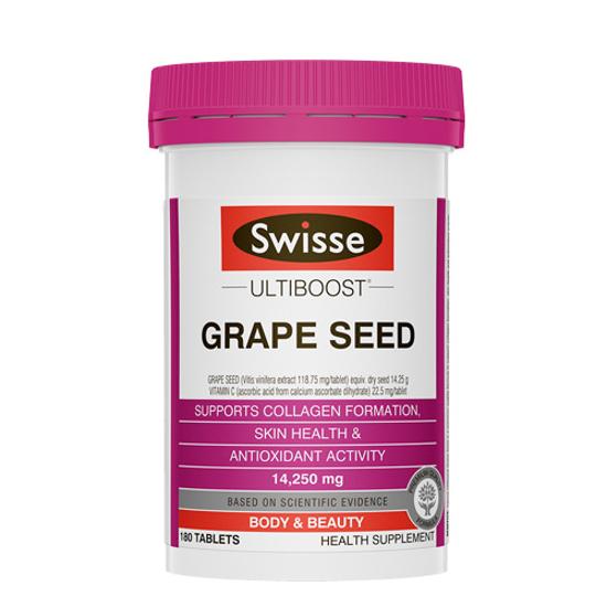 Swisse Grape Seed 14250mg 180 tablets