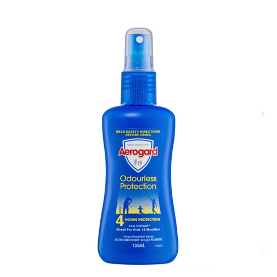 Aerogard Odourless Protection Insect Repellent Spray 135ml