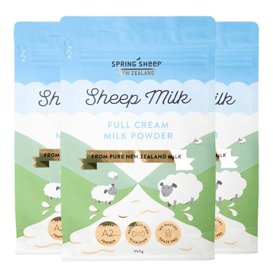 Spring Sheep Full Cream Sheep Milk Powder 850g x 3 bags