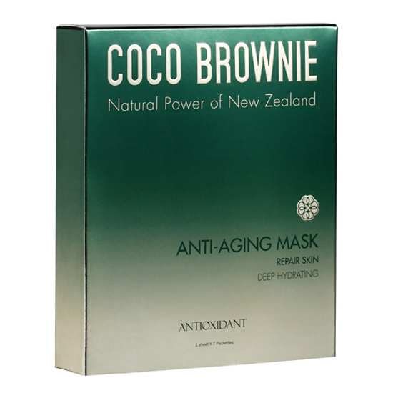 Coco Brownie Deep Hydrating Anti-Aging Mask 7 pcs