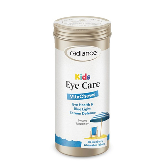 Radiance Kids Eye Delicious Blueberry Flavoured 60 chewable tabs
