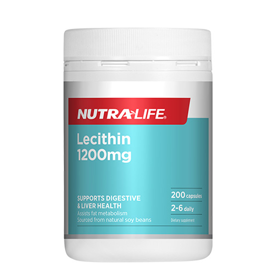 Nutralife Lecithin 1200mg Caps 200s